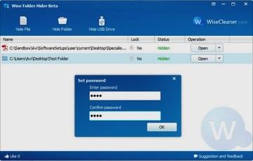 مخفی کردن فایلهای شخصی در کامپیوتر Wise Folder Hider