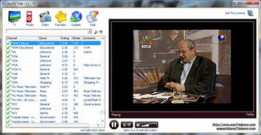 دریافت کانالهای تلویزیون