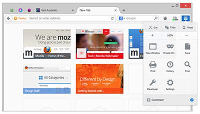 آخرین نسخه فایرفاکس