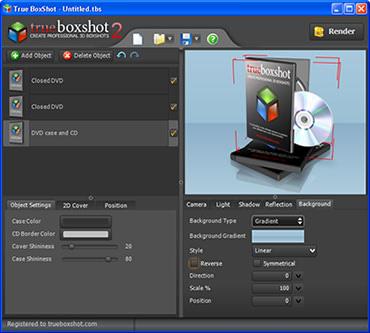 طراحی جعبه سیدی نرم افزار True BoxShot