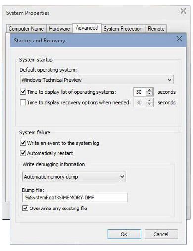 انتخاب بوت اول ویندوزهای نصبشده